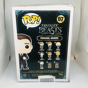 Funko Other - Funko Pop! Fantastic Beasts Percival Graves NWT